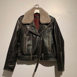 Rag and Bone Mackenzie Leather Jacket